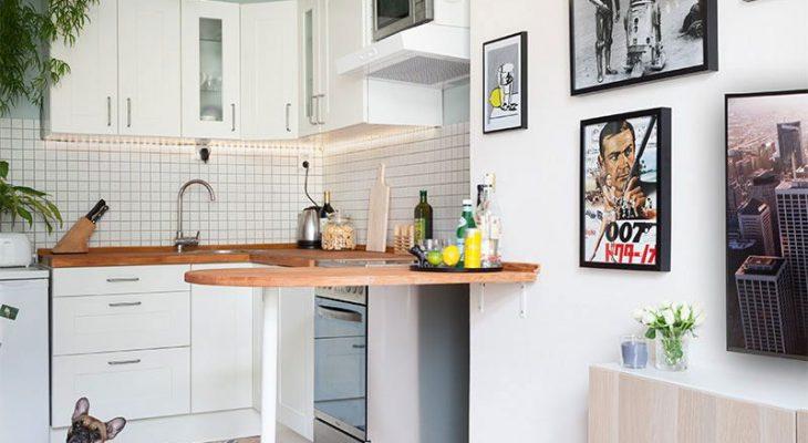 Decoração para uma cozinha simples e barata